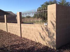 betoninė tvora